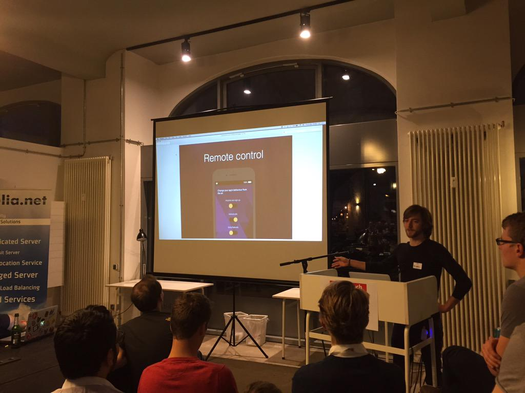 Appwoodoo on the Berlin Tech Meetup